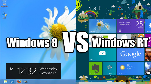 Windows 8 или Windows RT?