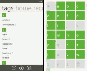 Evernote для Windows Phone
