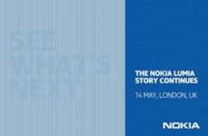 Приглашение на Windows Phone-эвент Nokia 14 мая 2013 года