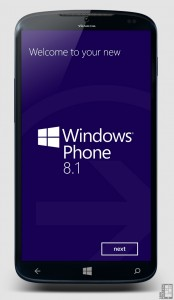 Концепт Windows Phone Blue