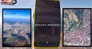 Nokia Lumia 920 в космосе