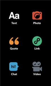 Tumblr для Windows Phone 8