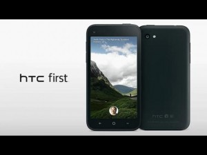 HTC First и Facebook Home