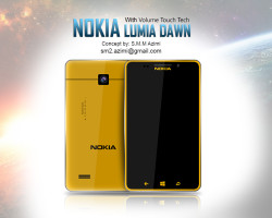 Концепт Nokia Lumia Dawn от S.M.M Azimi