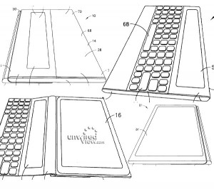 Рисунок из патента на планшет Nokia