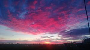 Восход Солнца над Оклендом (Steve Chadbourne)
