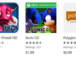 Скидки недели на игры и приложения для Windows Phone