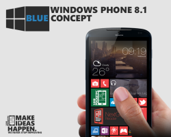 Концепт Windows Phone Blue от Yanko Andreev