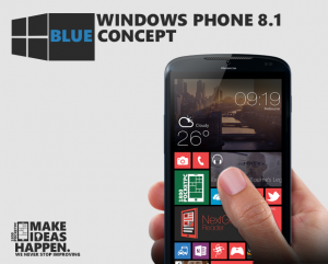 Концепт Windows Phone Blue