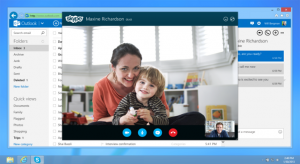 Skype в Outlook.com