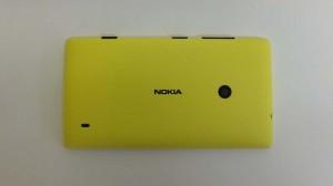 Nokia Lumia 520 - задняя панель