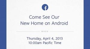 Приглашение на специальный ивент Facebook 4 апреля