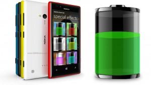 Nokia Lumia 720: время работы от батареи