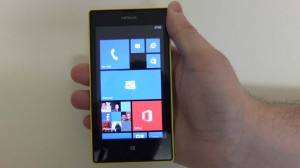 Nokia Lumia 520: дисплей
