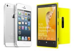 Сравнение IPhone 5 и Lumia 920