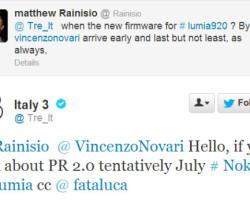 PR 2.0 для Nokia Lumia выйдет в июле