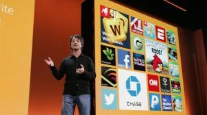 Джо Белфиори на презентации Windows Phone 8