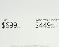 [Реклама] Windows 8-планшет vs. Apple iPad: меньше слов и больше дела