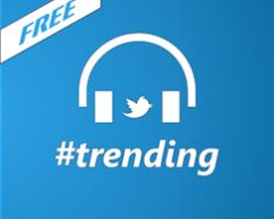 #trending — неофициальный клиент Twitter Music для Windows Phone