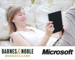 Microsoft приобретёт бизнес ридеров и планшетов Nook