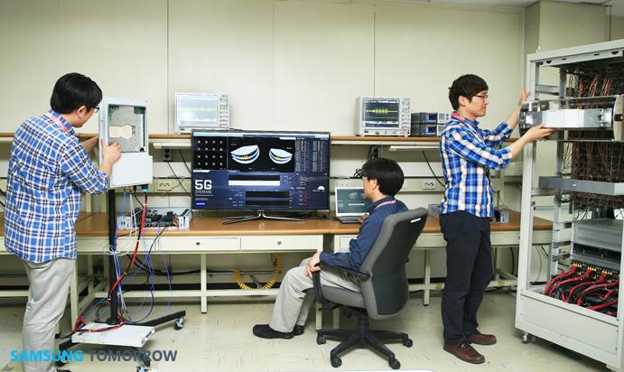 Samsung тестирует 5G