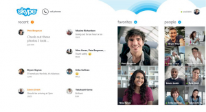 Skype для Windows 8