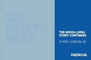 Приглашение на лондонский ивент Nokia 14 мая