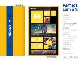 Концепт Nokia Lumia 938