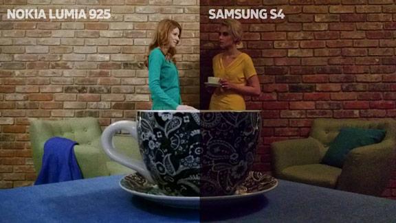 Nokia Lumia 925 vs. Samsung Galaxy S IV