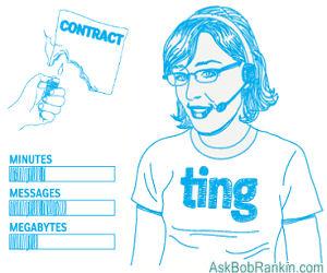Реклама оператора Ting (США)