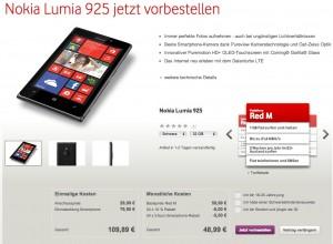 Nokia Lumia 925 32 ГБ в Германии - старт продаж