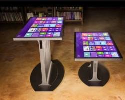 Platform 46: стол-планшет на Windows 8