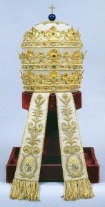 Тиара римских пап