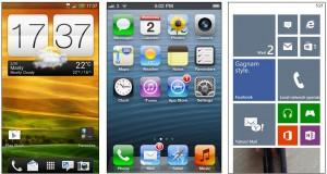 Android, iOS, Windows Phone 8