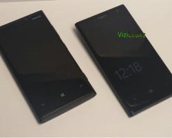 Фотография Nokia EOS на фоне Nokia Lumia 920