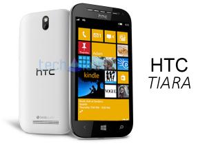 HTC Tiara - возможный внешний вид