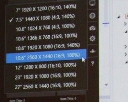 Microsoft Build: Surface 2 с разрешением 2560 х 1 440 и 16:10, 4:3-планшеты