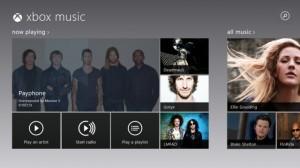 Xbox Music в браузере