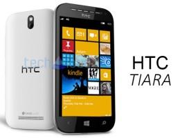 Рендер HTC Tiara
