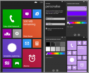 Концепт Windows Phone 8.1