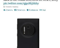 Nokia 909 — вид сзади