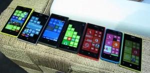Семейство Windows Phone 8-смартфонов Nokia
