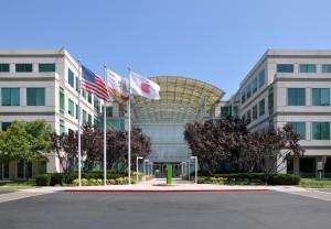 Штаб-квартира корпорации Apple в городе Купертино, США