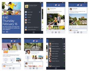 Facebook для Windows Phone 8
