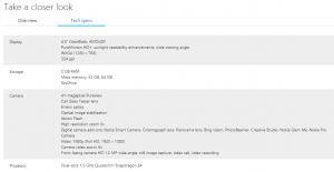 Nokia Lumia 1020 в интернет-магазине Microsoft