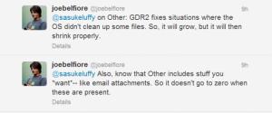 Джо Белфиори в твиттере