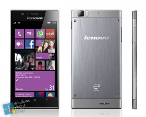 Windows Phone-8 смартфон Lenovo K900. Концепт