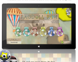 Игра Ragdoll Run — теперь и на Windows 8/RT