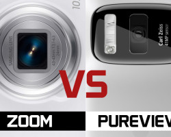 Видео: Nokia 808 vs Samsung Galaxy S4 Zoom