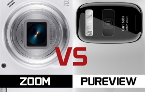 Nokia 808 vs Samsung Galaxy S4 Zoom